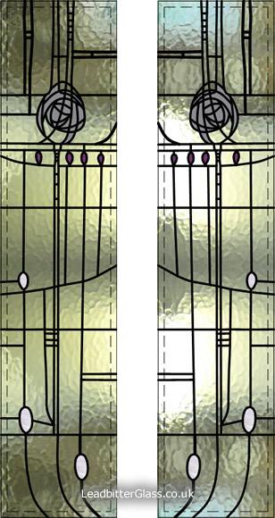Mackintosh Willow Tea Rooms Door Aberdeen