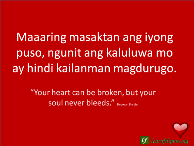 English Love Lines About Hugot