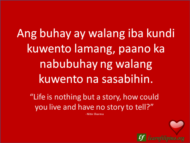Lines About English Hugot Love