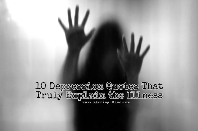 10 Depression Quotes That Truly Explain the Illness     Learning Mind 10 Depression Quotes That Truly Explain the Illness