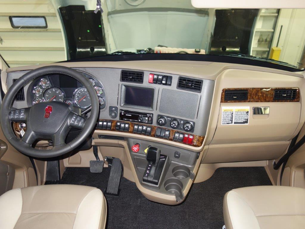 Kenworth Sleeper Inside