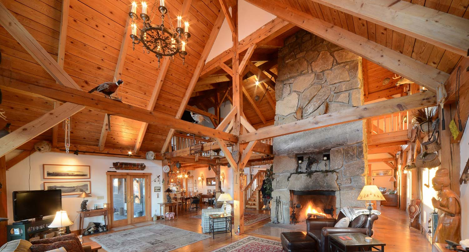 Custom Timber Frames In New York Vermont Pennsylvania