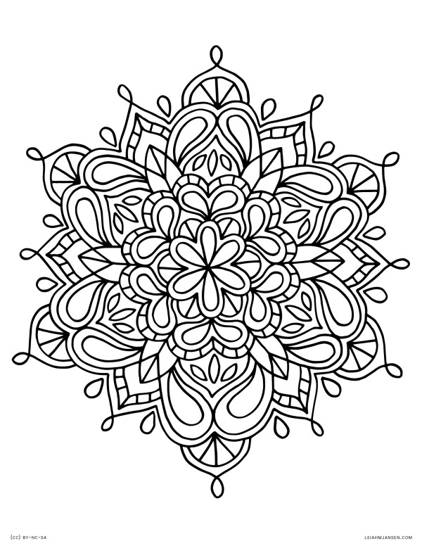 free detailed coloring pages # 10