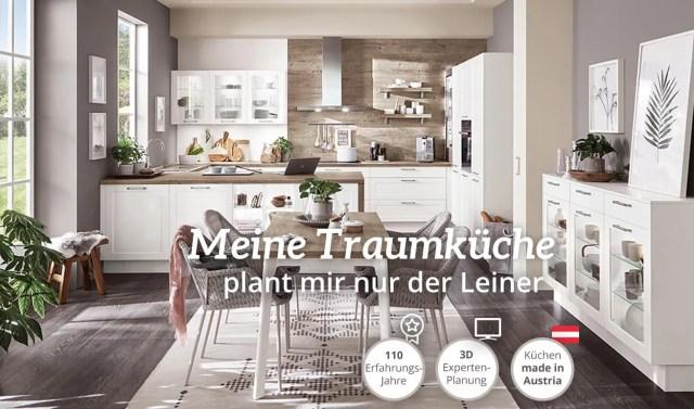 Jetzt online Traum-Küchenplanung vereinbaren | Leiner
