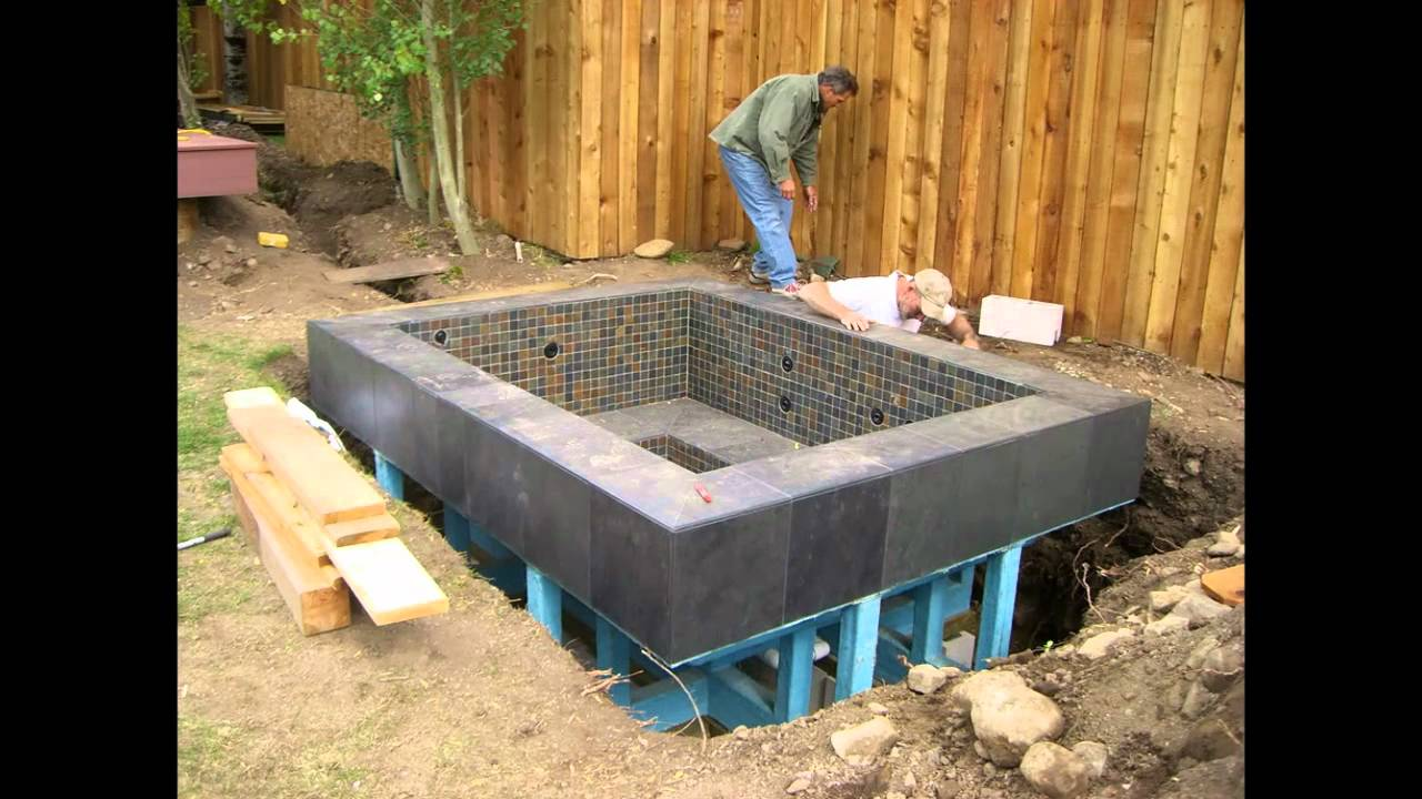 Above Ground Garden Pools