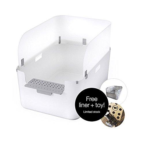Modkat Open Tray Litter Box Leisuretimery