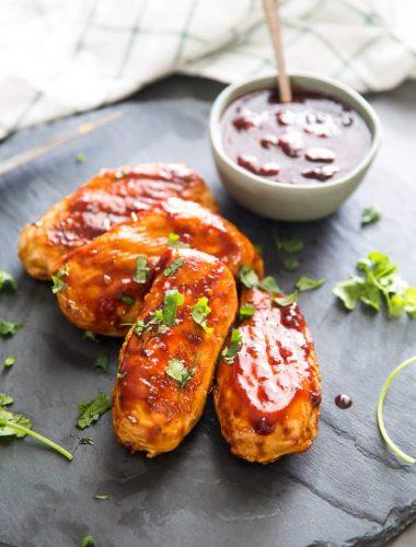 Grilled chicken bbq chicken