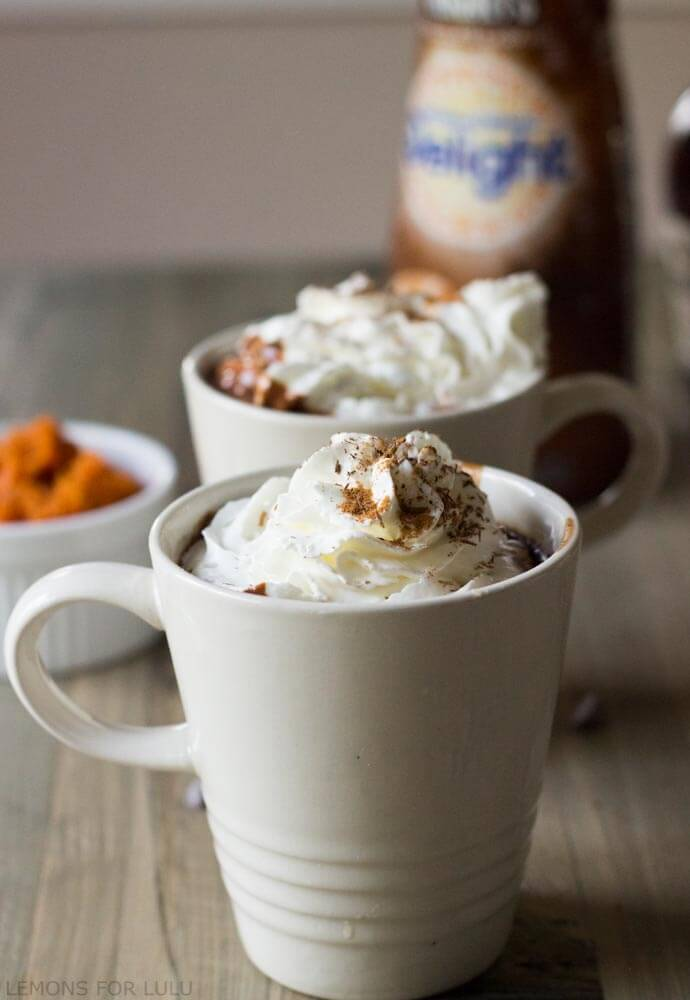 Pumpkin Spice Hot Chocolate-5