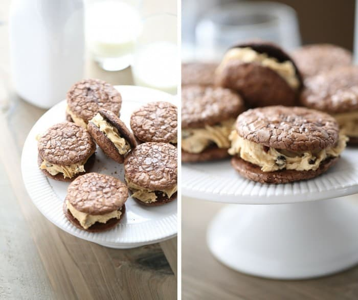 Chocolate and peanut butter are a winning combination. The flavor combination really shines in this Chocolate peanut butter sandwich cookie! lemonsforlulu.com