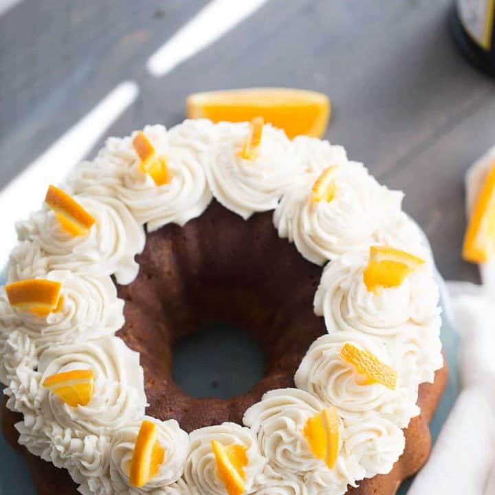 A mimosa recipe in dessert form might be the best way to enjoy the classic brunch cocktail!