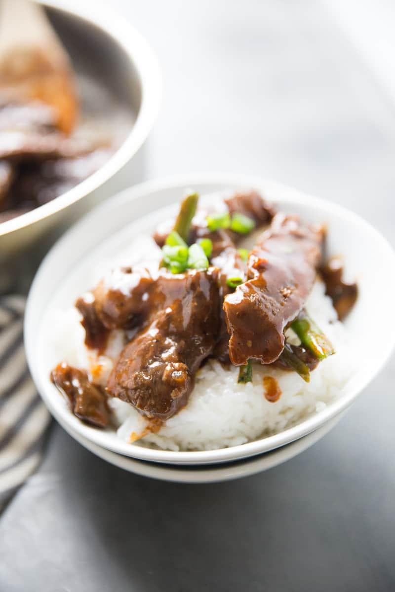 Mongolian Beef Easy