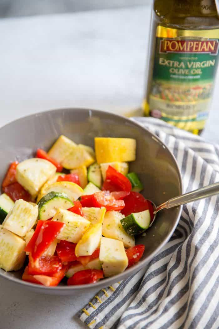 veggies in a bowl
