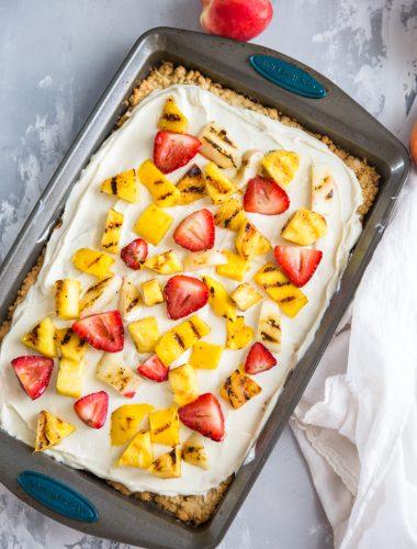 fruit pizza recipe uncut