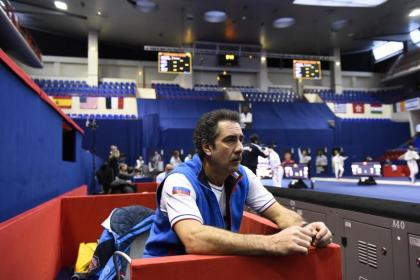 Hugues Obry will catch over as head of the French epee crew, Stefano Cerioni, modern foil chief