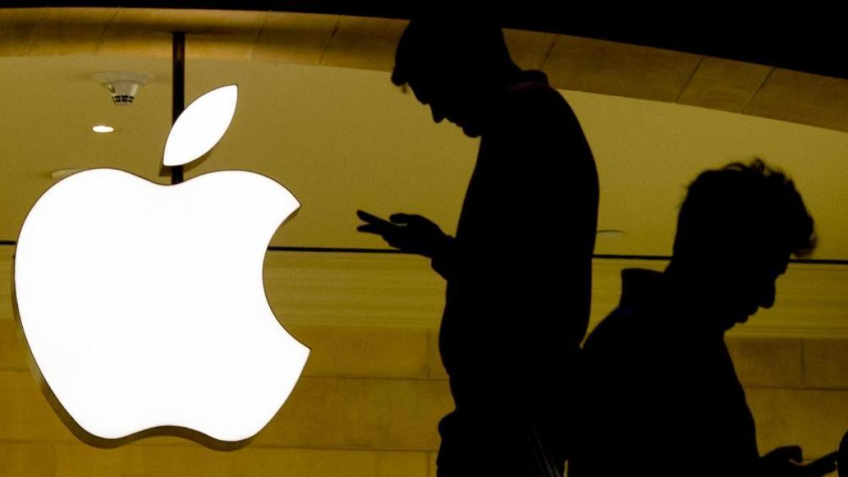 Apple d    passe les 1 000 milliards de dollars en Bourse   Le Soir Apple d    passe les 1 000 milliards de dollars en Bourse