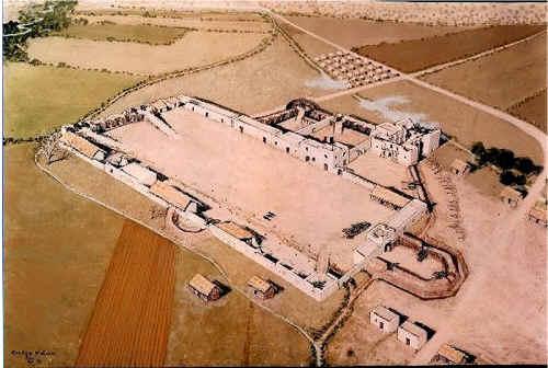 Alamo Map Layout