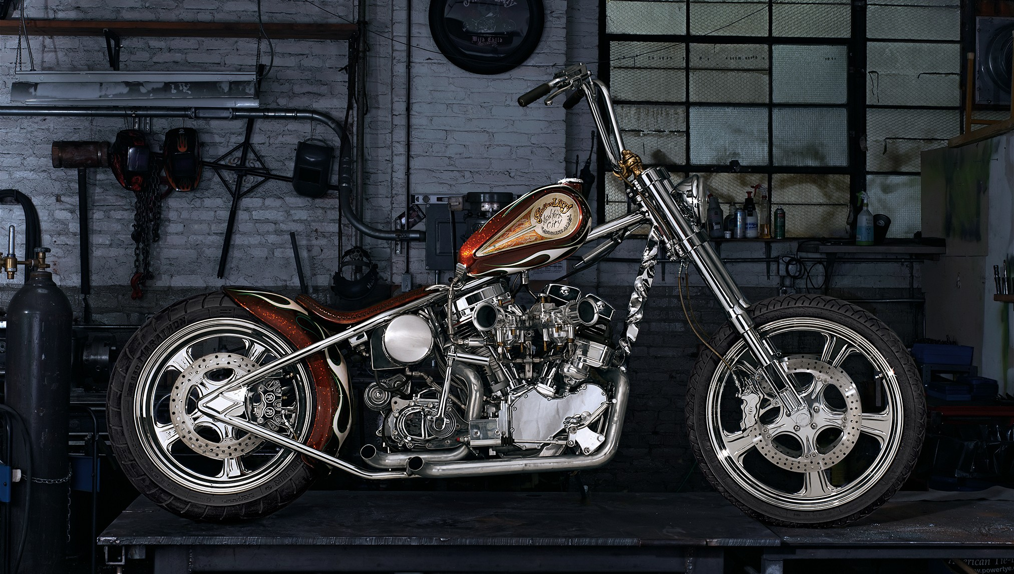 Indian Larry Indian Chopper