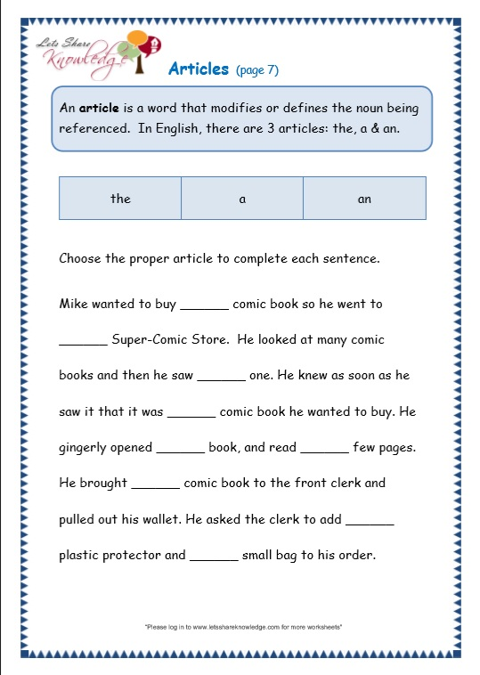 Abstract Nouns Worksheets Grade 3