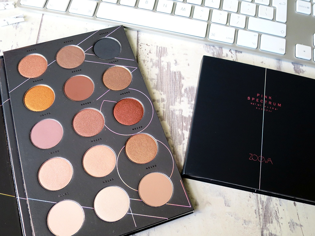 New Zoeva Eyeshadow Palette
