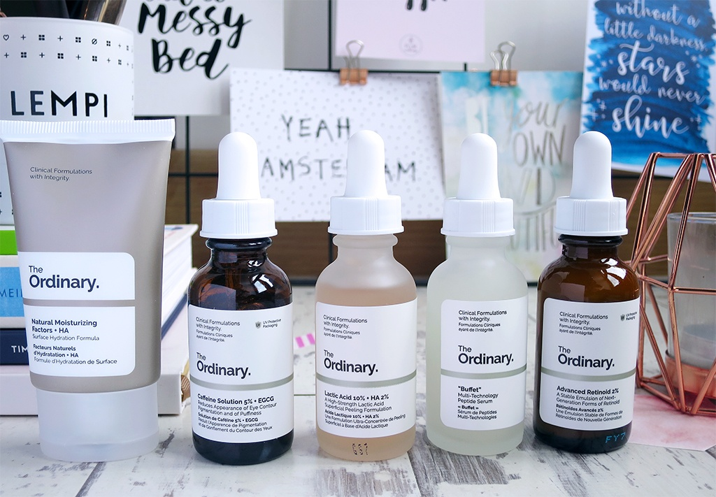 The Ordinary 5 Piece Anti Ageing Skincare Set