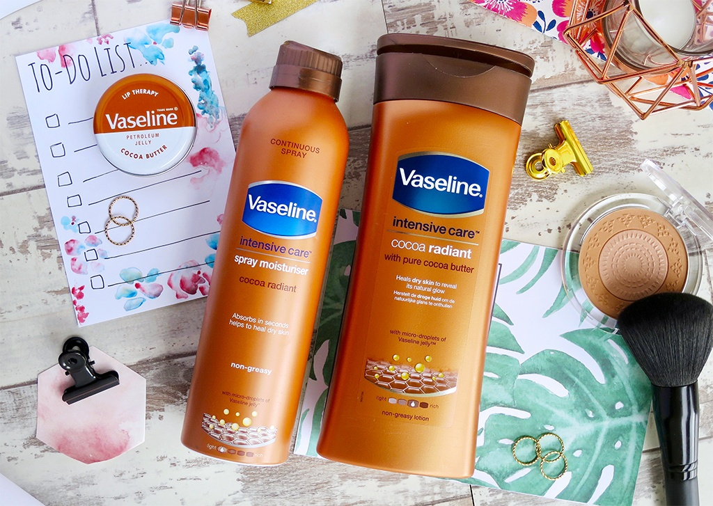 Vaseline Cocoa Radiant Products