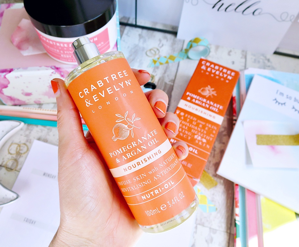 Crabtree Evelyn Pomegranate and Argan Oil Collection