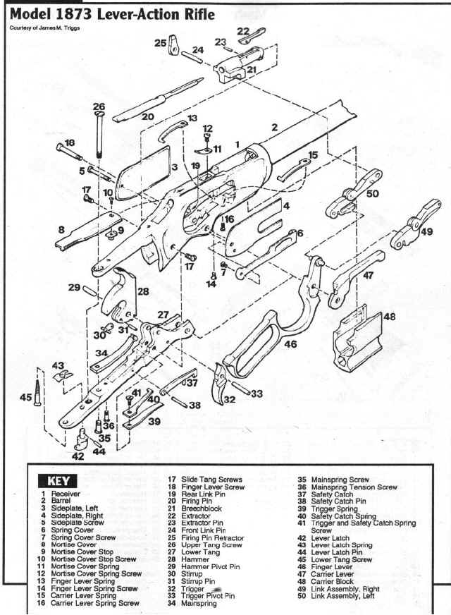 Savage Model 16 Parts Diagram