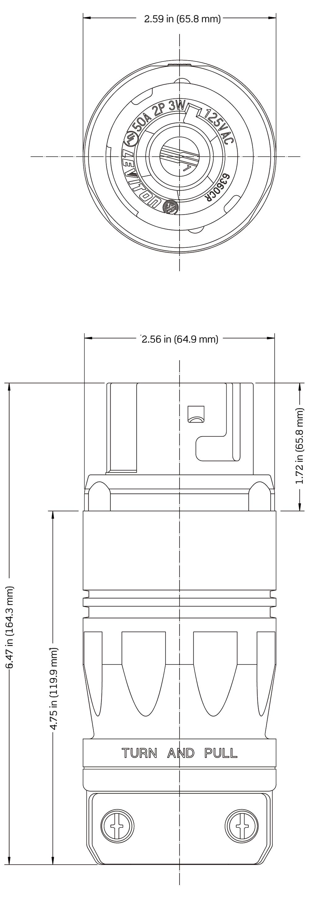 Leviton 6291 Wiring Diagram