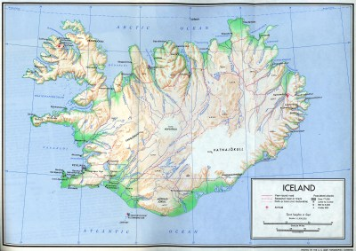 Iceland Maps - Perry-Castañeda Map Collection - UT Library ...