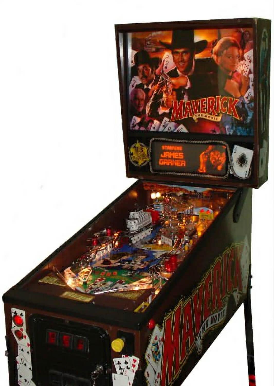 Maverick The Movie Pinball Machine Liberty Games