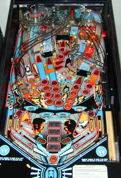 Demolition Man Pinball Machine For Sale Liberty Games