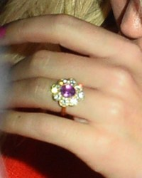 Katy Perry's Engagement Ring Sparkles on Date With Orlando Bloom