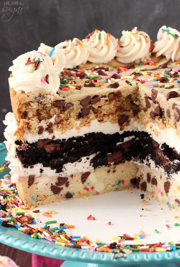 Triple Mousse Cake