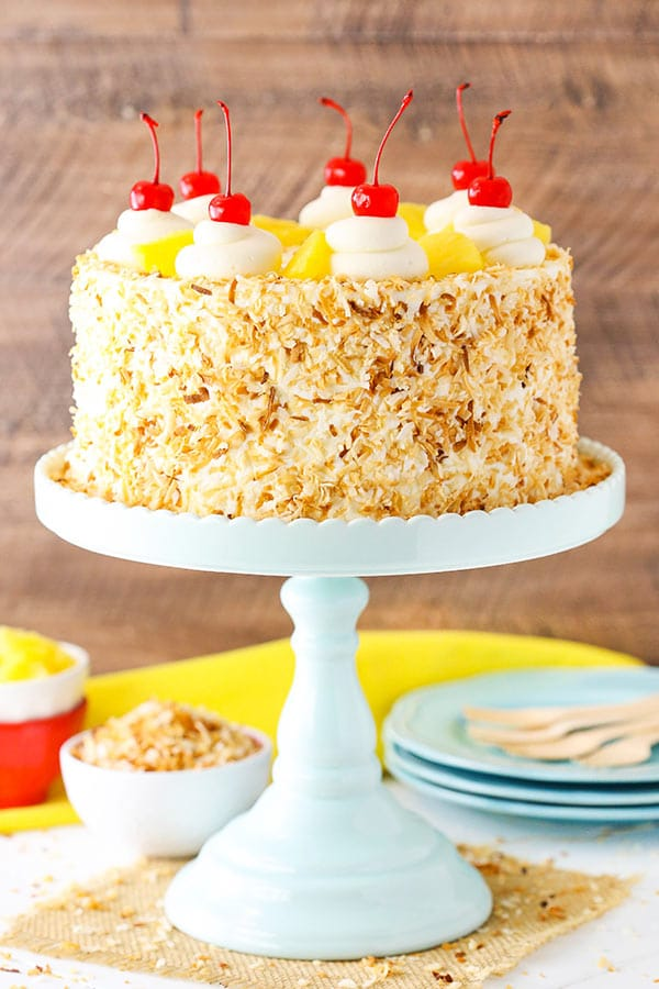Pineapple Cake Coconut Frosting