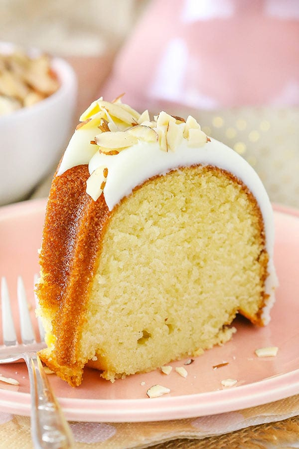 Almond Amaretto Bundt Cake Life Love And Sugar