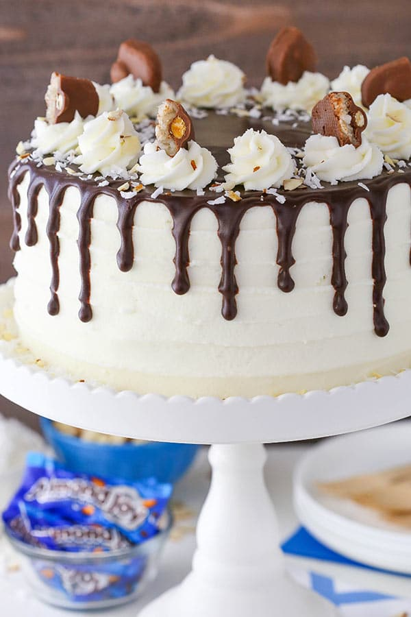 Almond Joy Layer Cake Life Love And Sugar