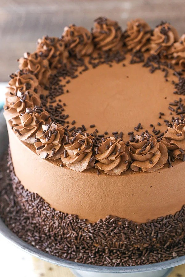 Chocolate Mousse Cake Life Love And Sugar