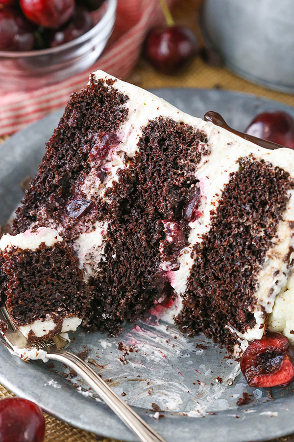 Black Forest Cake Easy Chocolate Cake Recipe With Cherry