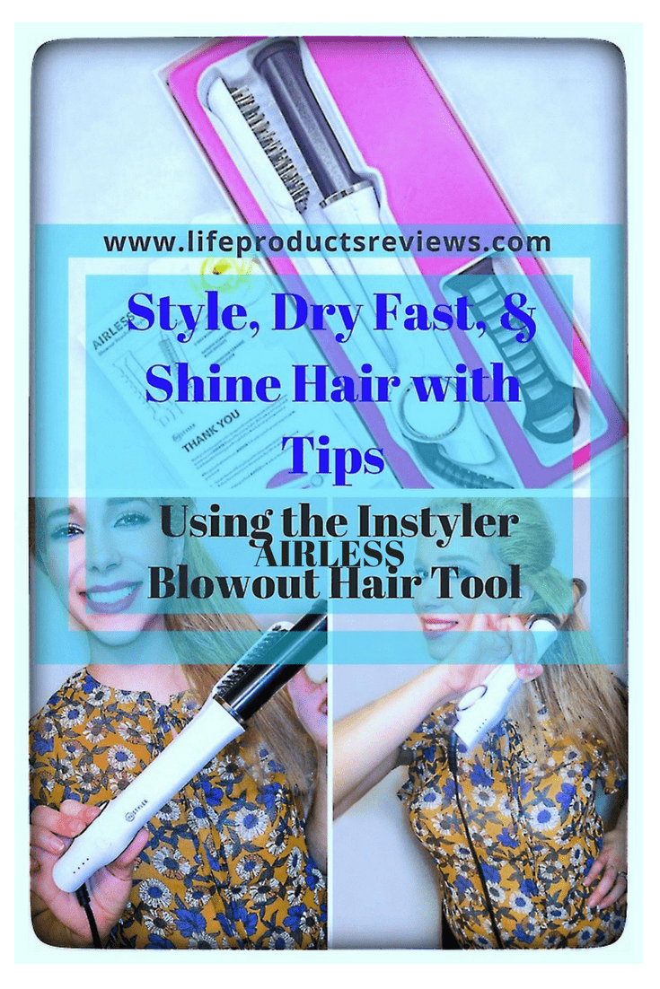 Airless-Instyler-Shine-blowout-hair-straightener-curler-blowout-with-tips