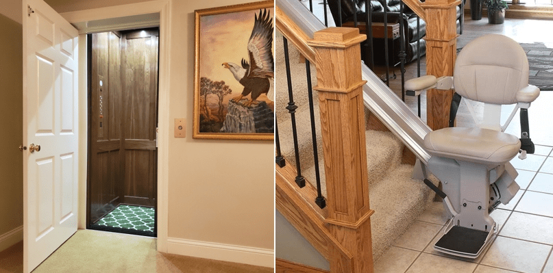 Stair Lifts Vs Home Elevators Which Is Best For Me | Staircase Companies Near Me | Stair Parts | Floating Staircase | Spiral Staircase | Stair Railing | Stair Lift