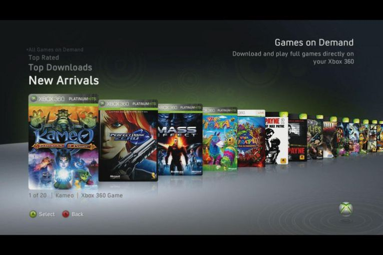 Xbox 360 Games On Demand FAQ and Buying Tips Xbox 360 Games On Demand