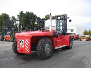 Red Kalmar machine