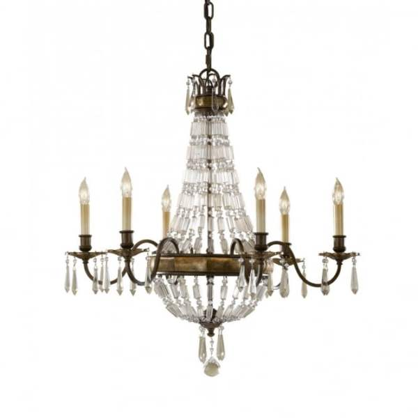 crystal chandelier traditional # 22
