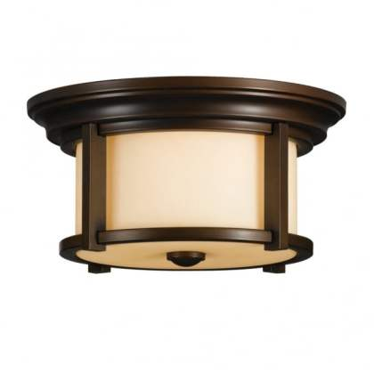 Modern Classic Flush Mount Bronze Outdoor Ceiling Light modern classic bronze flush ceiling light with cream glass shade