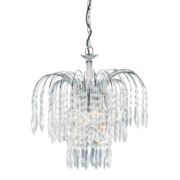 crystal chandelier tiered # 54