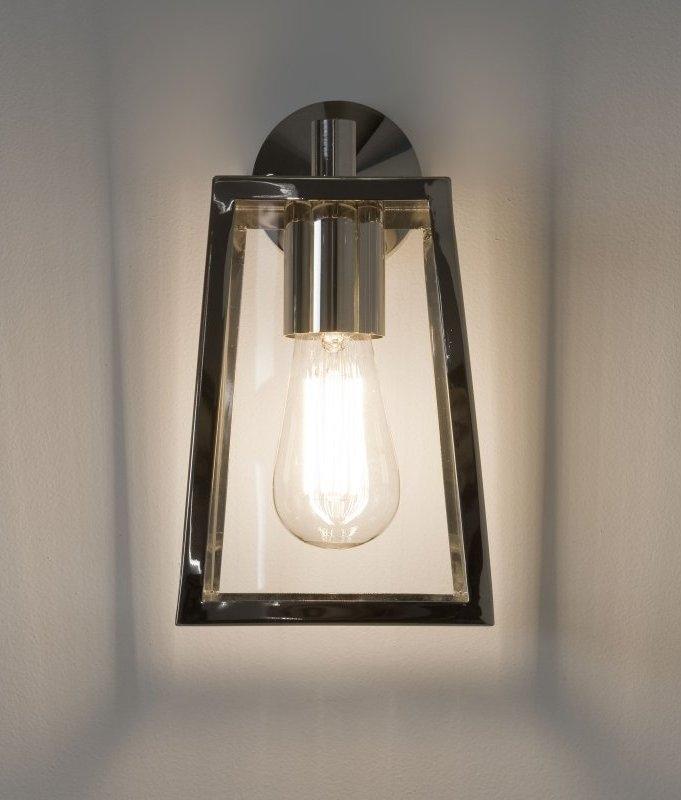 Contemporary 4 Paned Bracket Lantern Attractive Exterior