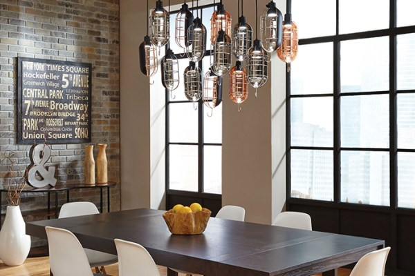pendant lighting over dining room table # 7