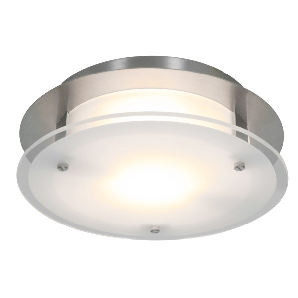 Vision Round Wall or Ceiling Light by Access   50036 BS FST
