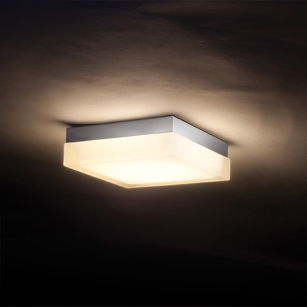 Dice Square Wall Ceiling Light by dweLED by WAC Lighting   FM 4006 30 CH