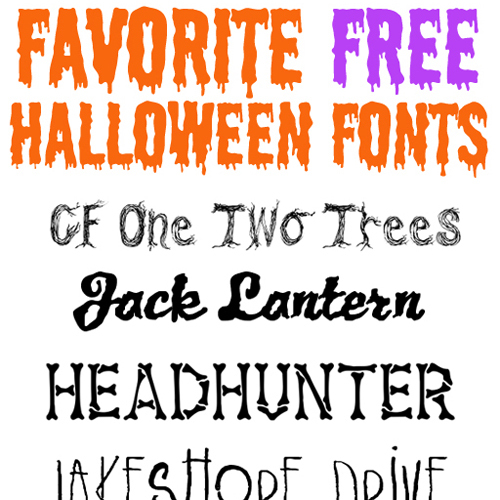 free halloween fonts # 18
